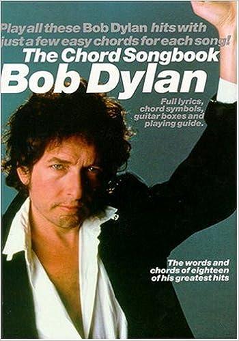 Amazon.com: Bob Dylan - The Chord Songbook (9780711977761): Bob ...