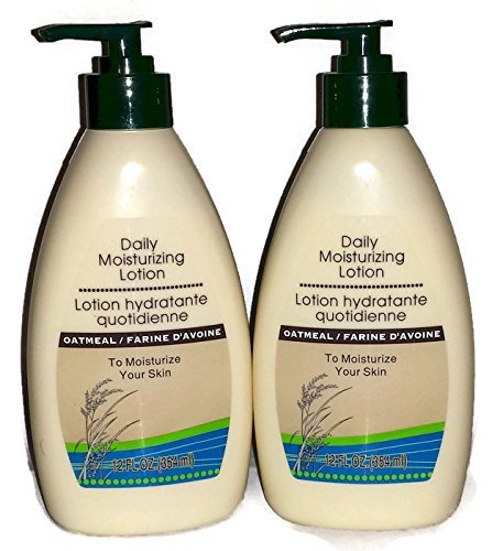 Daily Moisturizing Lotion with Oatmeal. 2, 12 Ounce Bottles with Pump Top by - Stores Greenbrier Mall