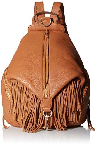 Rebecca Minkoff Fringe Julian Backpack Handbag Handbag, Almond, One Size by Rebecca Minkoff