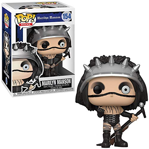 Funko- Pop Rocks Marilyn Manson Collectible Toy, Multicolor (45390)