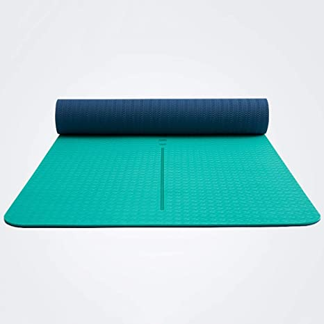 Amazon.com : Fgtree Median Line TPE Material Yoga Mat ...