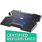 Cooler Master NotePal X3 - Laptop Cooling Pad with 200mm Blue LED Fan (Certified Refurbished)