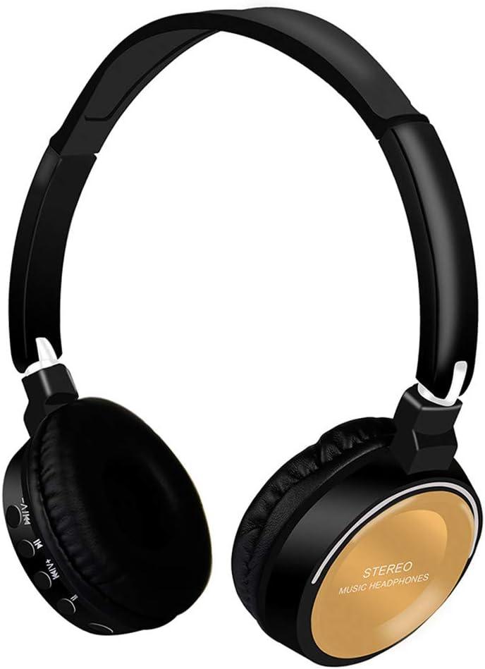 Redgiants On Ear Bluetooth 4.2 Headphones Wireless HiFi Stereo Supra-Aural Earmuff Headset Stereo Headset TF Card 3.5mm Interface with Mic