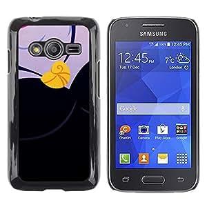 LECELL--Funda protectora / Cubierta / Piel For Samsung Galaxy Ace 4 G313 SM-G313F -- Drawing Sleep Gold Necklace --