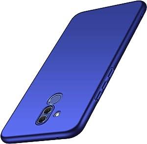 ORNARTO Funda Huawei Mate 20 Lite,Mate 20 Lite Carcasa [Ultra-Delgado] [Ligera] Mate Anti-arañazos y Antideslizante Protectora Sedoso Caso para Huawei Mate 20 Lite(2018) 6.3' Azul