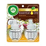 Air Wick Scented Oil 2 Refills, Paradise Retreat, (2X0.67oz), Air Freshener