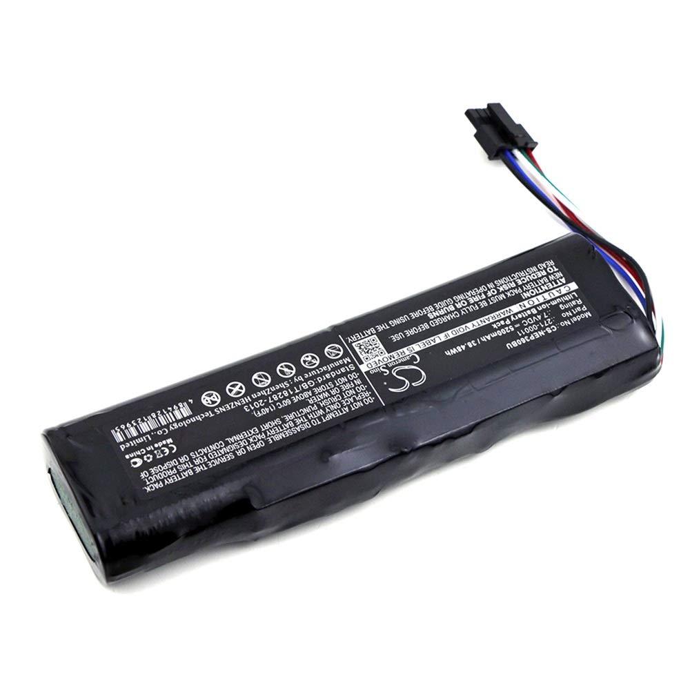 Aiyawear 5200mAh//38.48Wh 7.4V RAID Controller Battery Packs Compatible with 0X9B0D 0XC9F3 271-00011 Color : Black, Size : 132.30 x 41.00 x 18.50 mm