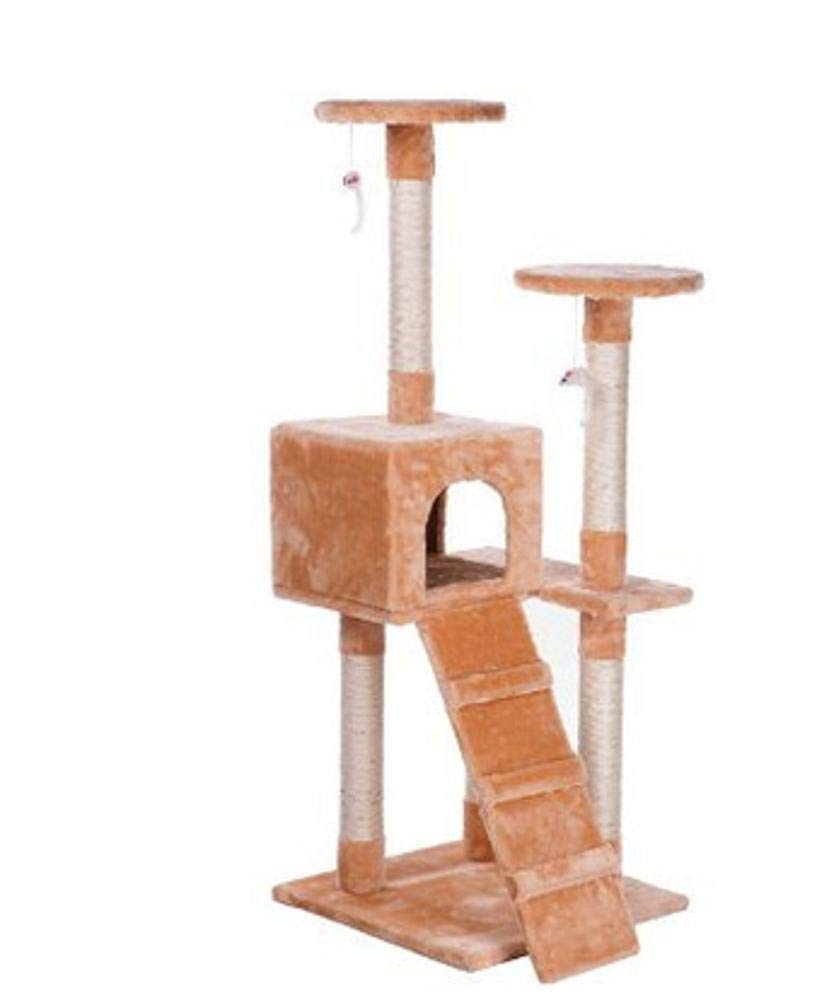 B Axiba Play Towers Trees for Cats Cat Grinding Claw Toy cat Litter cat cat Scratch Board cat Jumping pet toy 50  50  130cm