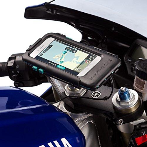 Ultimateaddons Motorcycle 10-13.2mm Fork Stem Yoke Mount + Tough Waterproof Case for iPhone 7 4.7