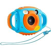 1.77 pollici TFT HD bambini bambini fotocamera digitale macchina fotografica autoritratto autoritratto videoregistratore regalo di Natale - blu e arancione