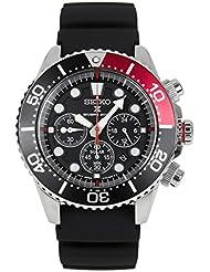 SEIKO Prospex Sea Divers 200m Chronograph Solar Sports Watch Red SSC617P1