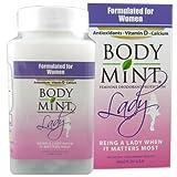 Body Mint Lady for Feminine Deodorant Protection 50 tabs