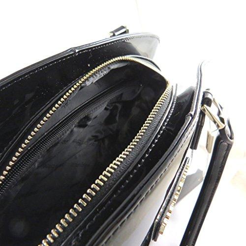 Borsa in pelle Jacques Esterelvernice nera - 39x24x12 cm. 2018 Para La Venta Compras En Línea De Envío Gratis Nuevo Estilo De La Moda De 2018 Más Reciente iQpmqgL4Y