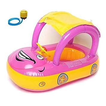 Y # x3010; Hasta Que y # x3011; inflable bebé flotador asiento barco piscina