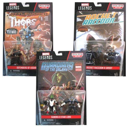 (Hasbro Marvel Legends 3 3/4-Inch Comic Packs Action Figures Wave 3 )