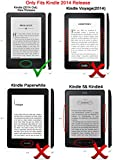 ACdream Kindle 7th Generation [Origami] Case, Ultra Slim Premium PU Leather Cover Case for Kindle, 6'' Glare-Free Touchscreen Display (7th generation, 2014 Version) with Auto Wake Sleep Feature, Black