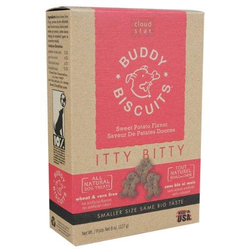 Itty Bitty Buddy Biscuits – 8 oz – Sweet Potato Madness, My Pet Supplies