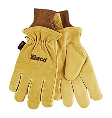 Kinco 94HK Split Grain Pigskin Ski Glove with Grain Pigskin Leather Palm