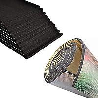 5 10MM Autol/ärm W/ärmed/ämmung L/ärmschutzplatten f/ür Motor//Dach//Fenster Mrinb Acoustic Damping Pad