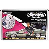 Dynamat 10455 18 x 32 x 0.067 Thick Self-Adhesive Sound Deadener with Xtreme Bulk Pack, (Set of 9)