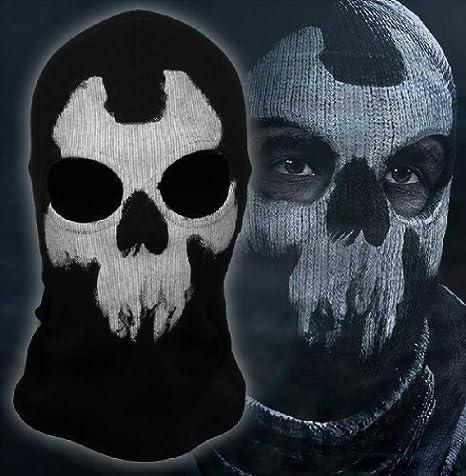 Amazon.com: Nuevo fantasmas esqueleto pasamontañas moto ...
