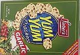 Lieber's Yum Yum Crackers Garlic Gluten Free KFP 4.15 Oz. Pk Of 6.