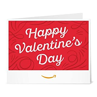 Amazon Gift Card - Print - Happy Valentine's Day (B079G7H2PT) | Amazon price tracker / tracking, Amazon price history charts, Amazon price watches, Amazon price drop alerts