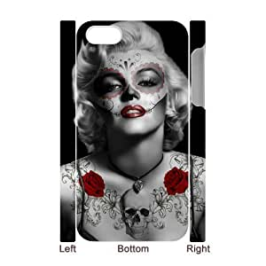 diy zhengZombie Marilyn Monroe Unique Design 3D Cover Case for iPhone 6 Plus Case 5.5 Inch /,,custom cover case ygtg693332