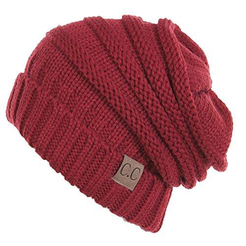 Red Winter Beanie - 1