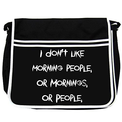 I Don' t Like Morning People, O Mattina, o persone Borsa