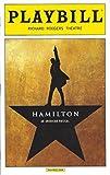 "Lin-Manuel Miranda ""HAMILTON"" Daveed Diggs / Leslie Odom, Jr. / Christopher Jackson 2016 Broadway Playbill"