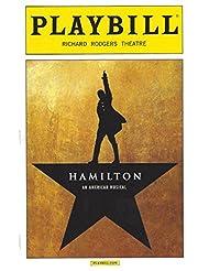 "Lin-Manuel Miranda""HAMILTON"" Daveed Diggs/Jonathan Groff/Leslie Odom, Jr. / Christopher Jackson/September 2015 Broadway Playbill"