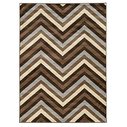Chevron Kitchen Rug: Amazon.com: Hawthorne Collections 8' X 10' Chevron Rug In