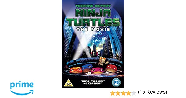 Teenage Mutant Ninja Turtles - The Original Movie DVD Reino ...