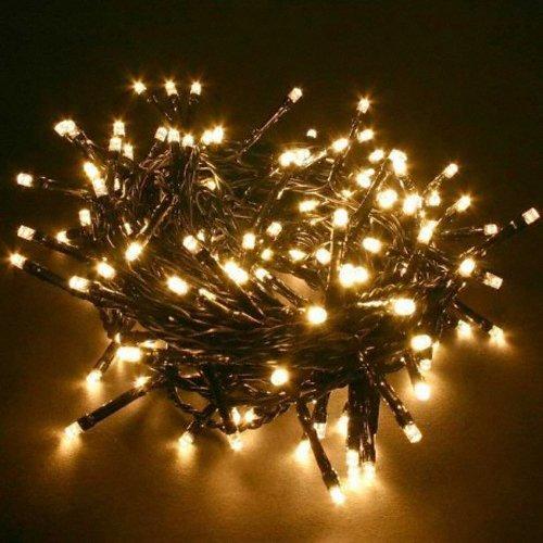 Außen Feen Lichter 160 LED Birnen Mit Schwarzem Kabel