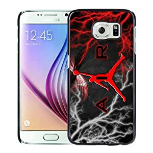 New Unique And Popular Samsung Galaxy S6 Case Designed With Michael Jordan Logo Black Samsung S6 Cover