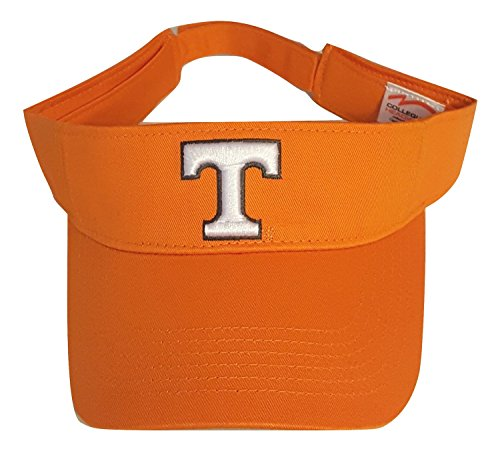 National Cap Tennessee Volunteers Adult Team Logo Visor, Orange by Collegiate Headwear
