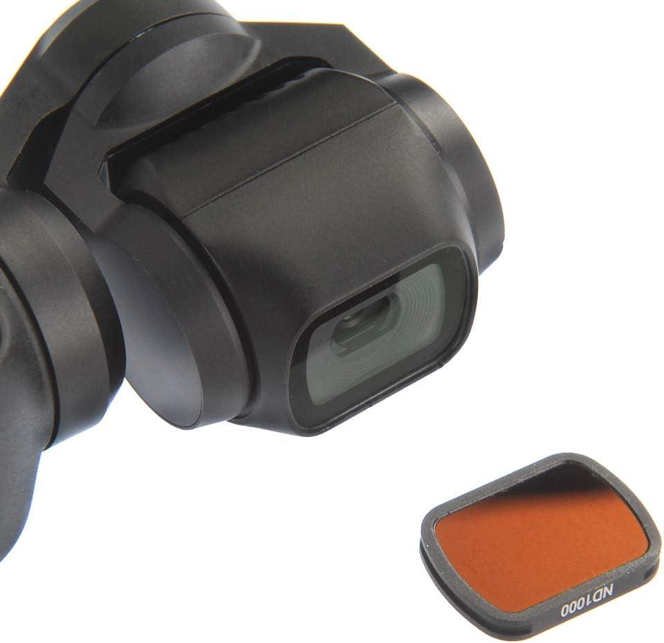 Runshuangyu Set of 4 ND1000//ND400//CPL//MC-UV Lens Filter Fit for DJI Osmo Pocket Camera Neutral Density Lens Filter for Photography