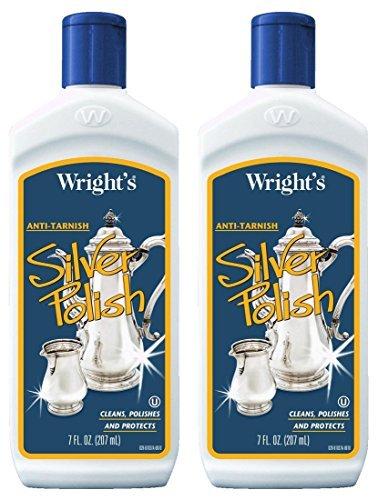 Wright's Anti-Tarnish Silver Polish Liquid 7 oz ()