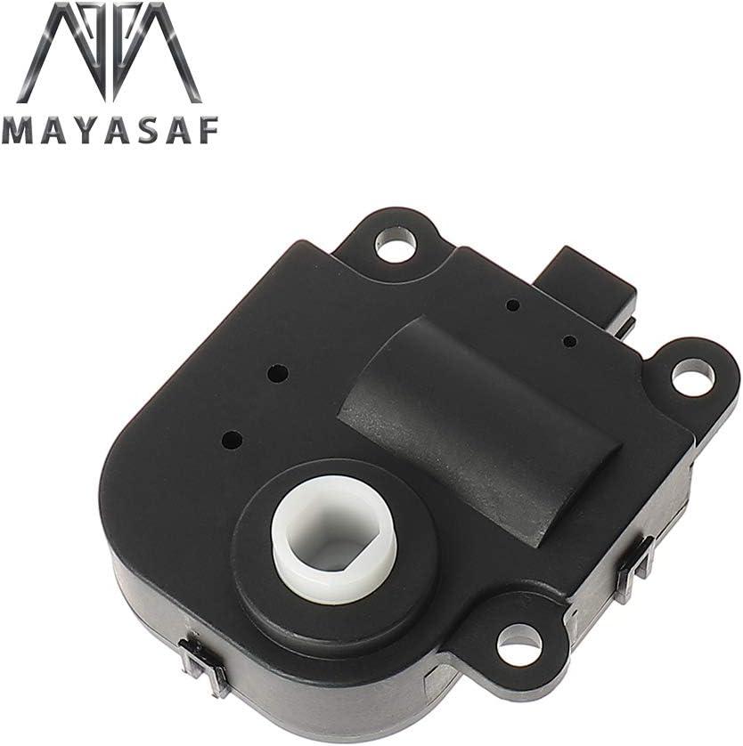 for PONTIAC 20077-12 G5//03-05 Sunfire for SATURN 07-09 Aura//03-07 Ion MAYASAF 604-109 HVAC Heater Air Blend Door Actuator for CHEVY 2003-2005 Malibu//06-11 HHR//05-10 Cobalt//03-05 Cavalier
