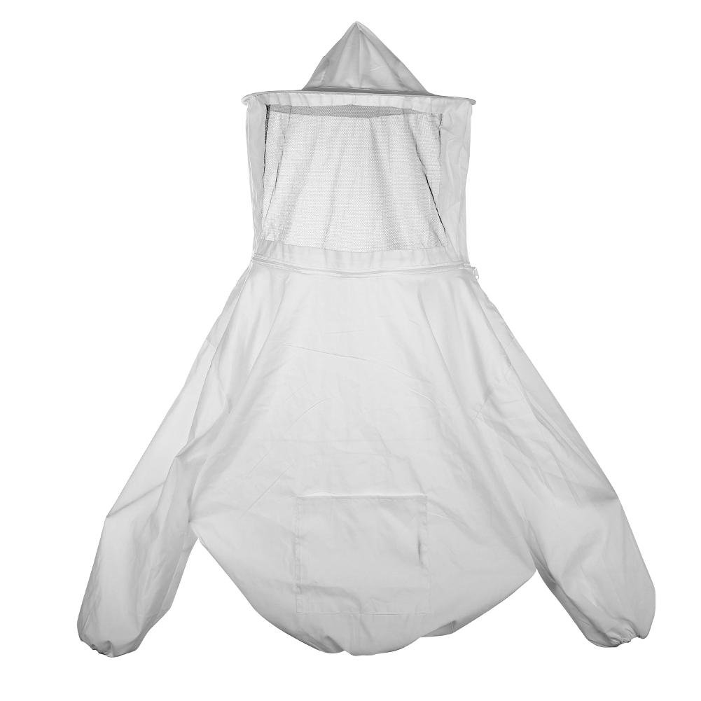Easydeal Beekeeping Jacket Veil Set Anti-bee Protective Safety Clothing Smock