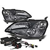 Honda Civic Headlight (Smoke Lens)+4300K HID+Slim Ballasts - EM ES