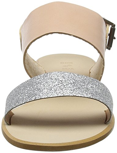 Argent Sandales The Bout Flora Ouvert Femme L silver Bear Shoe S8qwxIw6