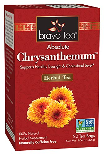 Bravo Teas & Herbs Absolute Tea Bag, Chrysanthemum, 20 Count