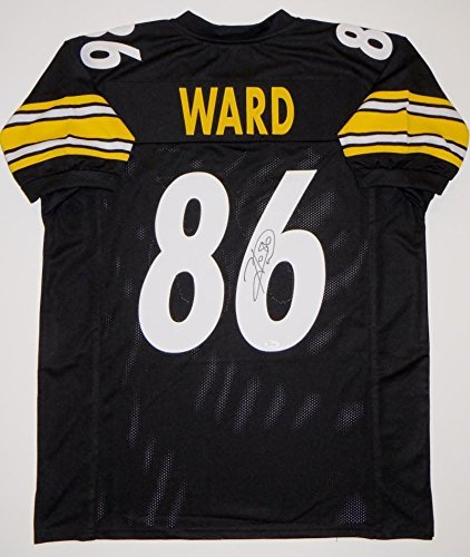 5278344e087 Image Unavailable. Image not available for. Color: Signed Hines Ward Jersey  - Black ...