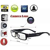 MDTEK@ Built-in 8GB HD 720p Mini Spy Hidden Slim Glasses Camera dv Nanny covet Eyewear Glasses Cam Camcorder DVR