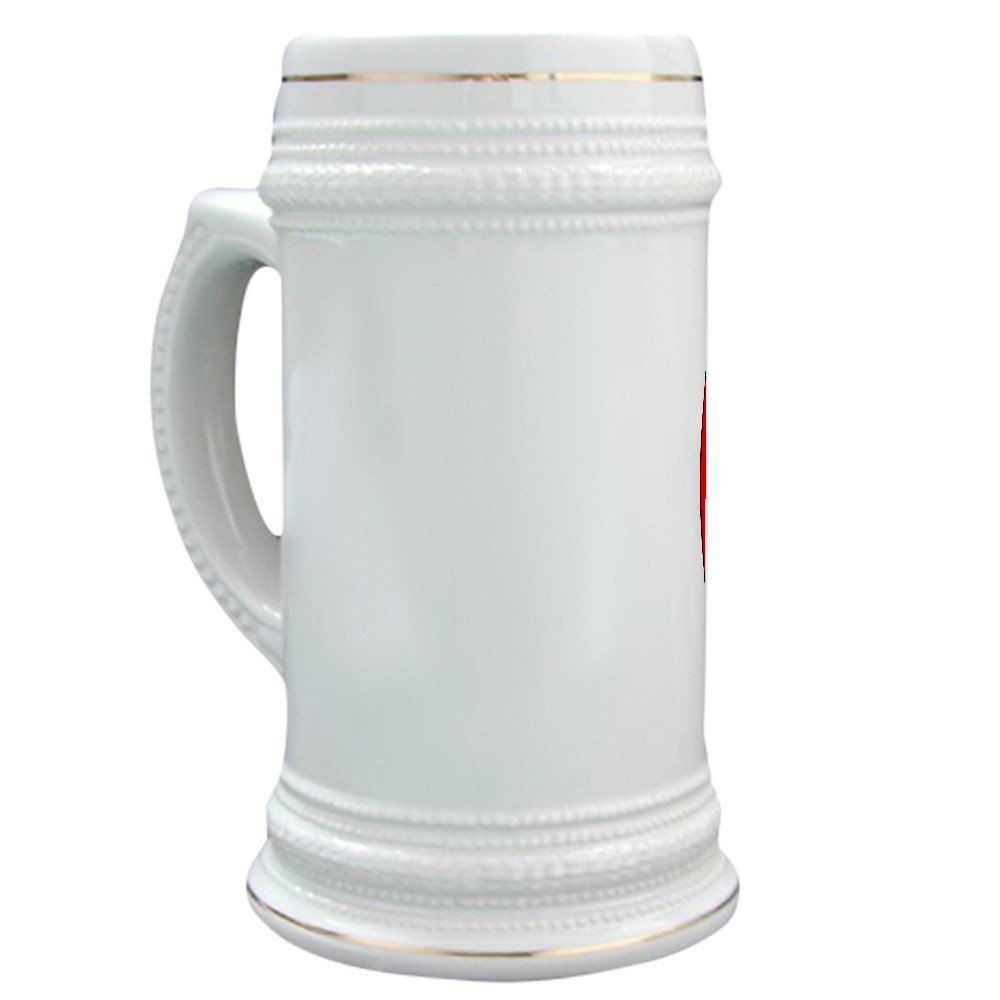 Amazon.com | CafePress - Stonecutters - Beer Stein, 22 oz. Ceramic ...