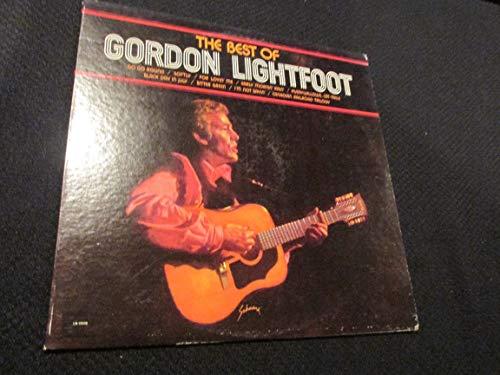 GORDON LIGHTFOOT THE BEST OF vinyl record