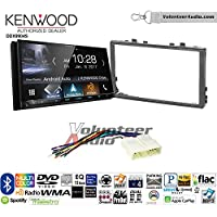 Volunteer Audio Kenwood DDX9904S Double Din Radio Install Kit with Apple CarPlay Android Auto Bluetooth Fits 1998-2002 Honda Accord, 1999-2005 Honda Civic (Excludes Si Models)