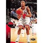 55a9d01b 1994-95 Upper Deck Basketball #201 Dickey Simpkins RC Rookie Card Chicago  Bulls.
